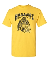 Harambe Day Care Gorilla Men's T-Shirt  (1506)