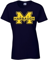 Jim Harbaugh Michigan LADIES T-Shirt (1017)