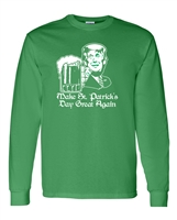 Make St. Patrick's Day Great Again Trump Unisex Crew Sweatshirt (1592)