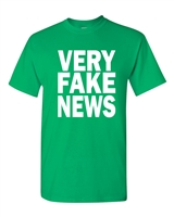 Very Fake News Donald Trump Men's T-Shirt  (1624)