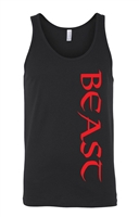 Red Beast Workout LADIES Tank Top (1631)