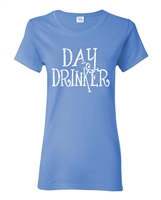 Day Drinker Ladies Junior Fit T-Shirt (1639)