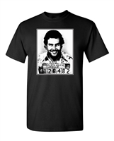 Pablo Escobar Mugshot Men's T-Shirt (1655)