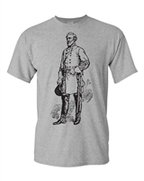 Robert E. Lee Image Men's T-Shirt (1667)