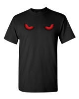 Red Eyes Halloween Men's T-Shirt (1680)