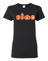 I Love Pumpkin Pie Ladies Junior Fit T-Shirt (1698)