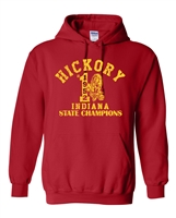 Hickory High School 1952 Indiana State Champions Unisex Hoodie (1704)