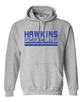 Hawkins Power And Light Stranger Things Unisex Hoodie (1731)