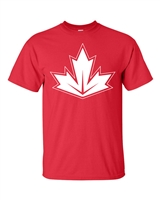 Canada Maple Leaf Design Men's T-Shirt (1739)
