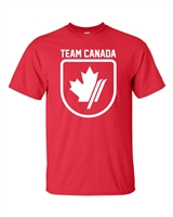 Team Canada Skiing Men's T-Shirt (1741)