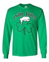 Dilly Dilly Beer Mug St. Patrick's Day LONG SLEEVE Men's T-Shirt (1763)
