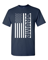 Trump American Flag Men's T-Shirt (1769)