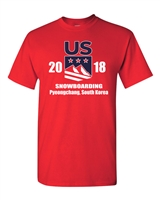 US Snowboarding Olympic Team Men's T-Shirt (1770)