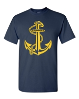 Anchor US Navy Men's T-Shirt (1812)