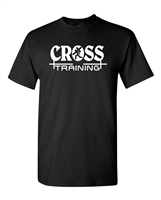 Cross Training Christian Theme Men's T-Shirt (1827)