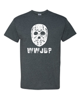 WWJD What Would Jason Do? Men's T-Shirt - Small Black (ATA1828)