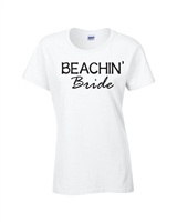 Beachin' Babes/Bride Junior Fit Ladies T-Shirt (1835)