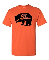 Papa Bear Men's T-Shirt (1849)