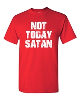 Not Today Satan Men's T-Shirt (1853)