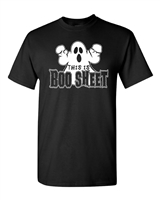 This Is Boo Sheet Halloween Men's T-Shirt (013)