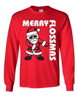 Merry Flossmass Men's LONG SLEEVE  T-Shirt (035)