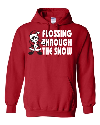 Flossing Through the Snow Unisex HOODIE (036)