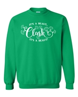 It's A Beaut Clark Christmas Tree Unisex Crew Sweatshirt (144)