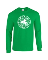 Happy Alcoholiday - St. Patrick's Day Men's LONG SLEEVE T-Shirt (406)