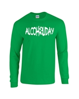 Alcoholiday - St. Patrick's Day Men's LONG SLEEVE T-Shirt (407)