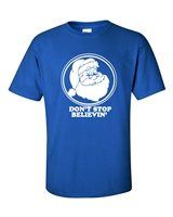 Don't Stop Believing Santa Claus Holiday Men's T-Shirt (581)