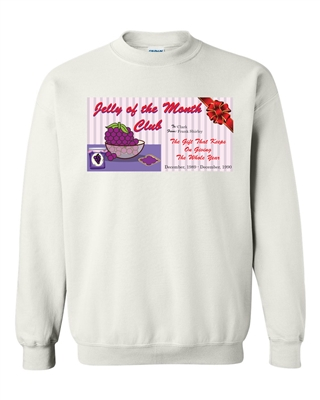 Jelly Of The Month Club SUBLIMATION CREW Sweatshirt