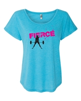 Fierce Workout Ladies SUBLIMATION T-Shirt (NL6760)