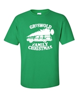 Griswold Family Christmas Tree on Car Men's T-Shirt (588)