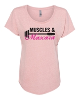 Muscles & Mascara NL6760 Ladies SUBLIMATION T-Shirt