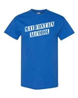 May Contain Alcohol Men's T-Shirt (1745)