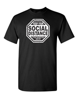 Keep Your Social Distance Men's T-Shirt (173)