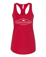 I Don't know Sh!t About Lake of The Ozarks LADIES Racer Back Tank (670)