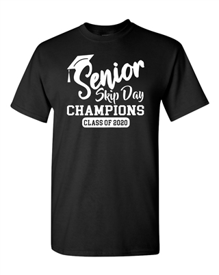 Senior Skip Day Champions Class of 2020 Men's T-Shirt (681)