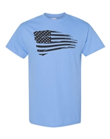 USA American Waving Flag Men's T-Shirt  (858)