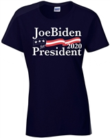 Joe Biden for President 2020 Junior Fit Ladies T-Shirt (1373)