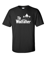 WodFather Crossfit Mens T-Shirt (824)