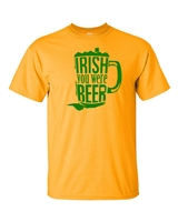 Irish You Were Beer Men's T-Shirt (831)