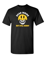 Dead Inside But Still Horny Halloween Men's T-Shirt (218)