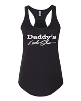 Daddy's Little Slut NL 6338 Ladies Racerback Tank Top (1229)