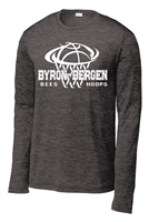 Byron-Bergen Basketball Sport Tek Dri Fit Long Sleeve T-Shirt (st700LS)