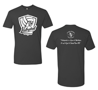 Byron-Bergen Volleyball Next Level Front & Back Print T-Shirt (3600)