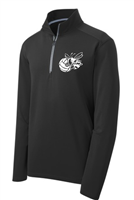 Bryon-Bergen Volleyball Men's 1/4 Zip Pullover (ST860)