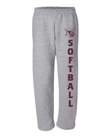 Byron Bergen Softball Dry Fit Sweatpants (Gildan 12300)