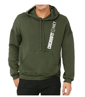 Crossfit NKY Bella Canvas Unisex Fleece Drop Shoulder Hoodie (3729)