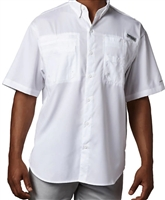 CHCA Columbia Men's Shirt With Logo On The Sleeve (PFG Tamiami II)